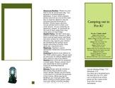 Pamphlet for Open House- Prek
