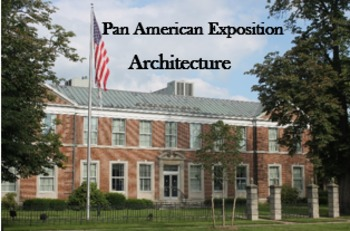 Pan American Expo Architecture - QR Code - iPad scavenger hunt