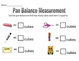 Pan Balance Measurement