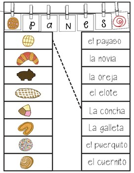 Pan Dulce assorted activities