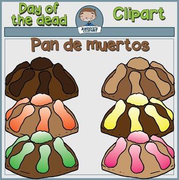 {Freebie} Pan de Muertos Clipart (Dia de los Muertos)