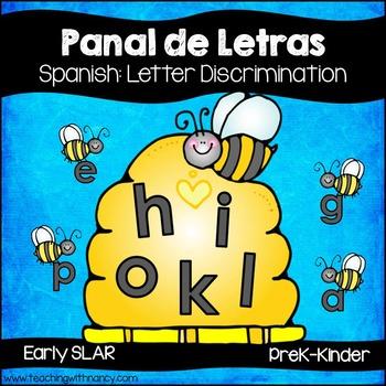 Panal de Letras (Spanish Letter Discrimination Activities)