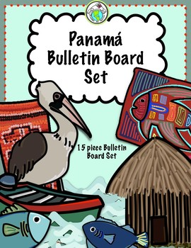 Panama 15 Piece Bulletin Board Set Spanish Multicultural Themes