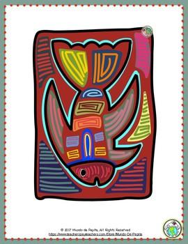 Panama 15 Piece Bulletin Board Set Spanish Multicultural Themes