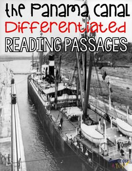 Panama Canal Differentiated Reading Passages