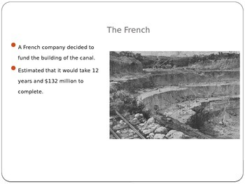 Panama Canal History Power Point
