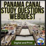 Panama Canal Study Questions Webquest