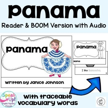 Panama Reader {English Version} & Vocab work ~ Simplified for Language Learners