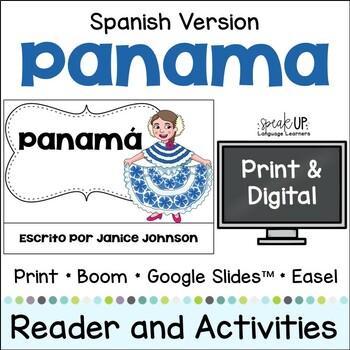 Panamá Reader Panama {en español} & Vocab pages ~ Simplified