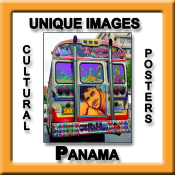 Panama in Photos Poster - Vertical