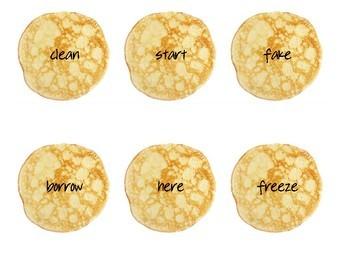 Pancake Antonyms
