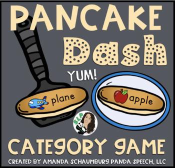 Pancake Dash: A Category Game