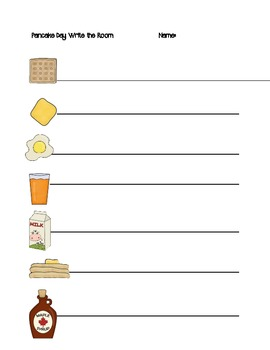 Pancake Day Activities for Early Years