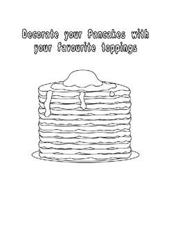 Pancake Day Activity Book