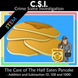 Pancake Day CSI: The Case of the Half Eaten Pancake Shrove Tuesday