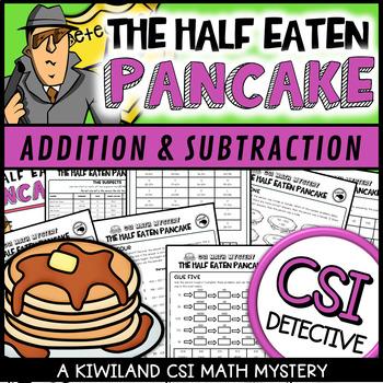 Pancake Day CSI: The Case of the Half Eaten Pancake Shrove Tuesday