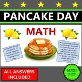 Pancake Day Math