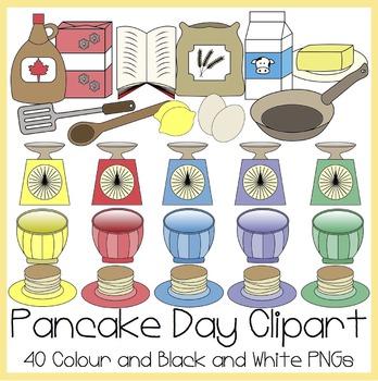 Pancake Day / Shrove Tuesday Clipart