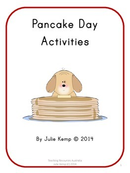 Pancake Day, Shrove Tuesday, Pancake Tuesday Activities