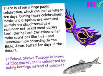 Pancake Day / Shrove Tuesday - Presentation, Quiz, Activity