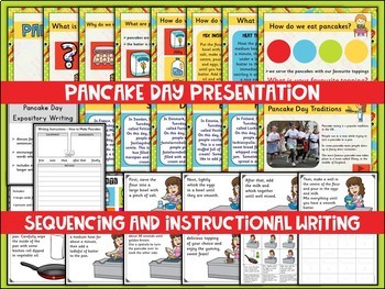 Pancake Day - Shrove Tuesday (UK Teaching Resources)