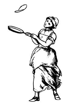Pancake Day Word Search