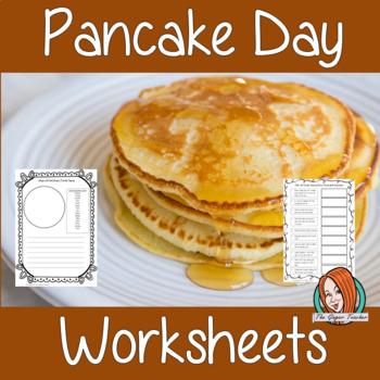 Pancake Day Worksheets