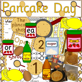 Pancake Day thematic unit - Easter, Shrove Tuesday PLUS role play pack