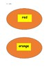 Pancake Flip for Color Words