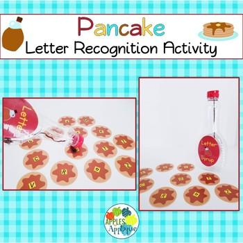 Pancake Letter Recognition Activity
