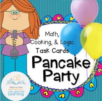 Pancake Party Activities in Math, Cooking, and Logic