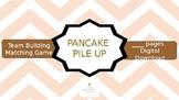 Pancake Pile Up - Team Building Matching Game.