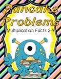 Pancake Problems Multiplication Math Center