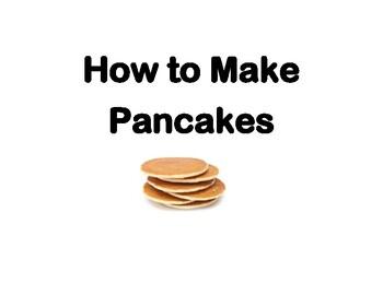 Pancake Sequencing worksheet