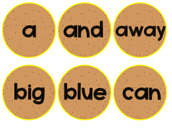Dolch PRE-PRIMER Sight Word Game [Center]