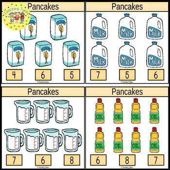 Pancakes Task Cards
