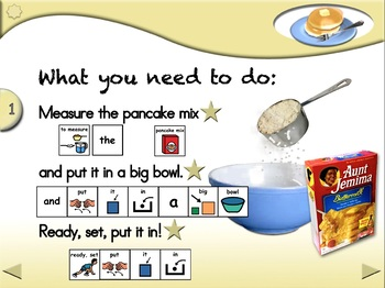 Pancakes (Mix Version) - Animated Step-by-Step Recipe - PCS