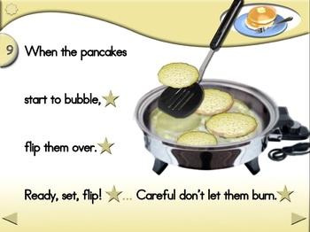 Pancakes (Mix Version) - Animated Step-by-Step Recipe - Regular