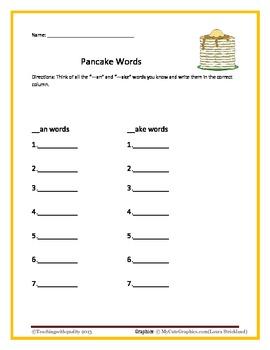 Pancakes Pancakes! Teaching 1st Grade ELA with Exemplar Texts