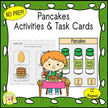 Pancakes Worksheets Activities Games Printables and More