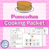 Pancakes cooking packet