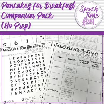 Pancakes for Breakfast Companion
