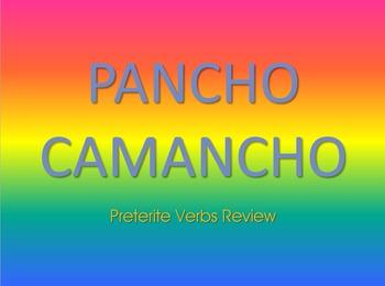 Pancho Camancho Game: Preterite Verbs