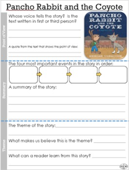 Pancho Rabbit and the Coyote: Lesson Plan and Resources--Bilingual