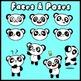 Panda Buddy! (All-in-one Classroom Mascot Clip Art Set)