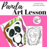 Art Lesson: Panda Art Game | Art Sub Plans
