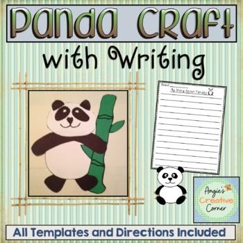 Panda Art & Writing Project