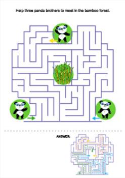 Panda Bears Maze, Commercial Use Allowed