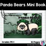 Panda Bears Mini Book for Early Readers