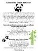 Panda Binder: Student organization tool and parent communication binder